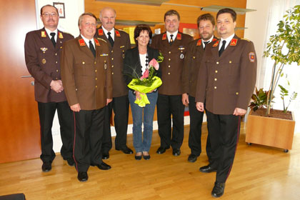 Antrittsbesuch bei Bürgermeisterin Irene Gölles
