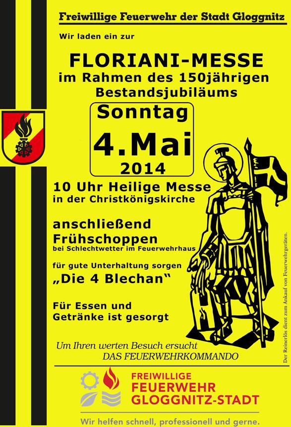 Plakat Florianimesse 2014