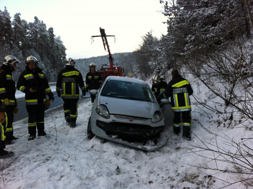 Verkehrsunfall auf der S6 fordert eine verletzte Person