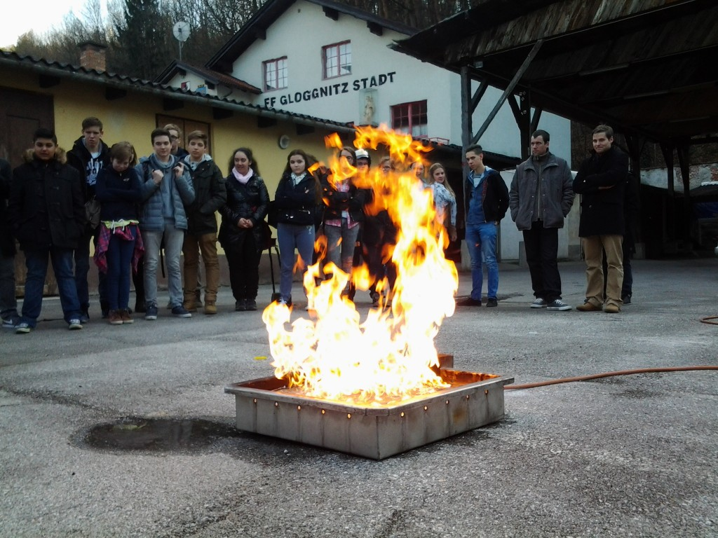 Besuch der Gastgewerbefachschule Judenplatz