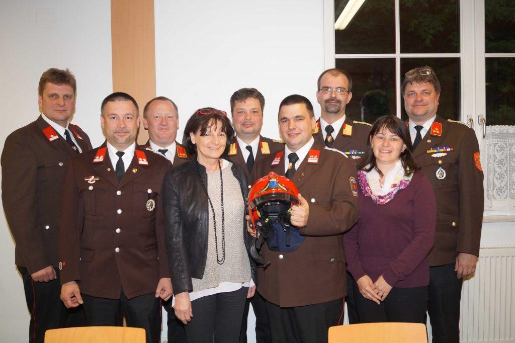 Mario Kremnitzer zweiter Feuerwehrkommandantstellvertreter