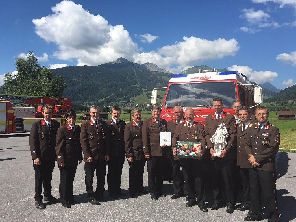 130Jahre Feuerwehr Ehrwald